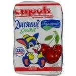 Творожок Гармония Детский вкус Вишня сладкий 23% 100г Украина