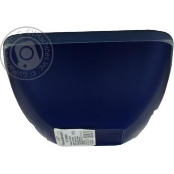 Миска-салатниця квадратна з кришкою Пластторг 0,5л 83177 - купить, цены на Novus - фото 4