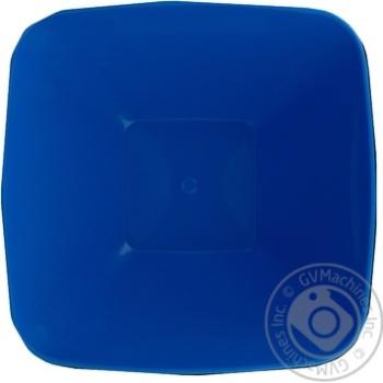 Миска-салатница Пластторг квадратная с крышкой 3л - купить, цены на Novus - фото 2