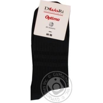 Носки мужские Diwari Optima All seasons р.29 000 черный 7С-43СП - купить, цены на Фуршет - фото 8