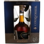 Cognac Courvoisier 40% 700ml glass bottle