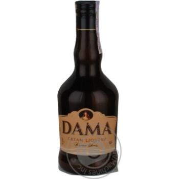 Крем-лікер Dama 17% 0,5л - купить, цены на Novus - фото 1