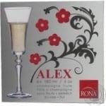 Wine glasses Rona 6pcs 180ml Slovakia