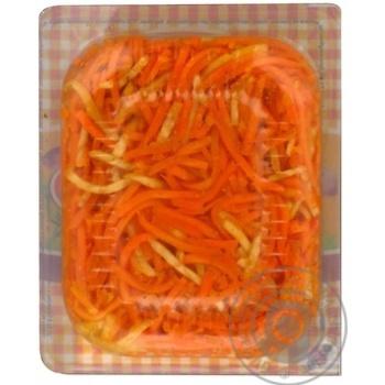 Салат Грінвіль Морква по-корейски з селерою - купити, ціни на Novus - фото 3
