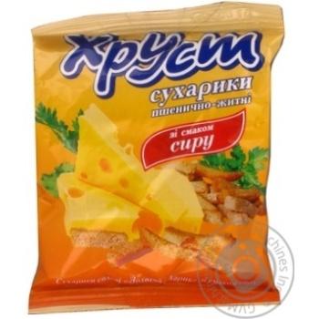 Сухарики Хруст пшеничні зі смаком сиру 35г