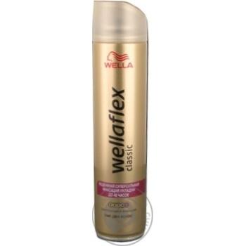 Лак для волос Wellaflex Классик суперсильная фиксация 250мл - купить, цены на СитиМаркет - фото 3
