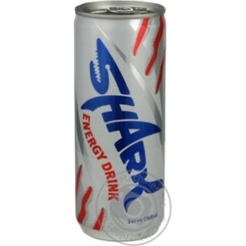 Energy drink Shark 250ml can