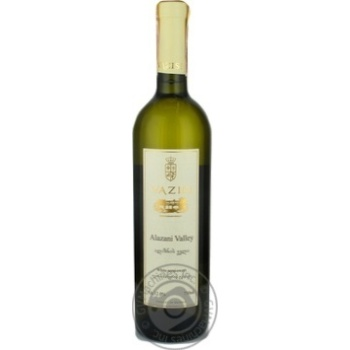 Вино Schuchmann Wines Georgia Vazisi Alazani Valley біле напівсолодке 12% 0,75л