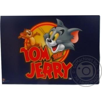 Килимок для дитячої творчості Cool for school Tom and Jerry Пластиковийт А3 TJ02694