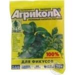 Добриво мінеральне для фікусів Агрикола пак.20р 100шт/кор 04-067