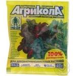 Добриво мінеральне для декоративнолистових рослин Агрикола пак.25г 200 шт/кор 04-060