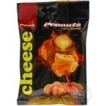 Snack peanuts Punch with taste of cheese salt 50g Ukraine
