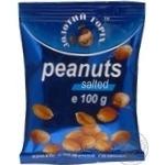 Арахіс Золотий горіх смажений солений 100г