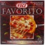 Pizza Vici with beef frozen 415g Estonia