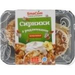 Сырники SmaCom с изюмом жареные 360г