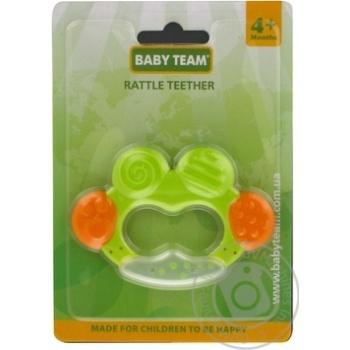 Прорізувач брязкальце Baby Team арт.4001