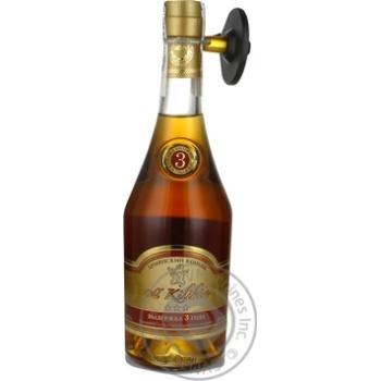 Коньяк Вірменський Old Kilikia 3 роки 40% в зв.бут.0,5л - купить, цены на Novus - фото 1
