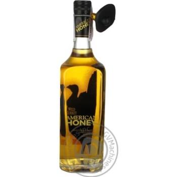 Ликер на основе виски Wild Turkey American Honey 35,5% 0,7л