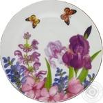 Тарілка д19см мілка Пурпурові квіти арт. 24-198-020