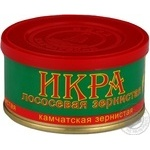Kamchatskaia grain-growing salmon caviar 130g