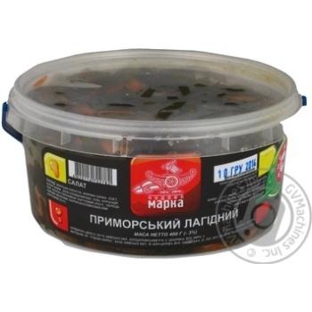 Салат Приморський Лагідний Чудова марка 400г