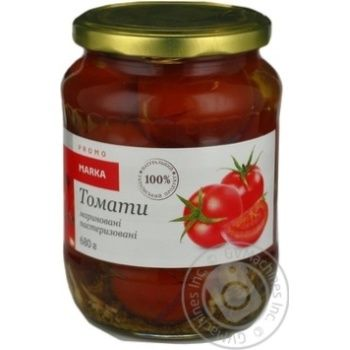 Marka Promо Pickled Tomatoes 680g - buy, prices for Novus - image 3