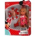 Лялька Еві Мінні Маус з браслетом для дівчинки Simba 2 види, 5747701, 3+