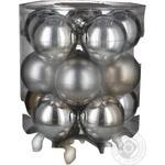Набір кулі срібло Koopman 60мм 20шт