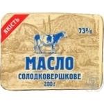 Масло Крестьянское охлажденная 73% 200г Украина