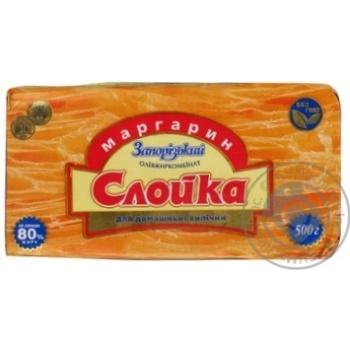 Маргарин Запорожский охлажденная 80% 500г Украина