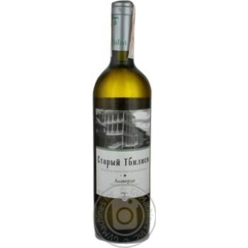 Вино GWS Старий Тбілісі Алаверди біле 12% 0,75л