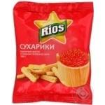 Сухари Риос красная икра 100г
