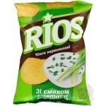 Чипсы Риос картофель со вкусом сметаны 80г