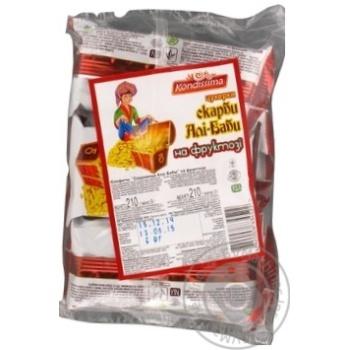 Конфеты Kondissima Сокровища Али-Бабы на фруктозе 210г - купить, цены на Восторг - фото 2
