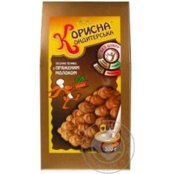 Korisna Konditerska Shortbread Cookies with Baked Milk without Sugar 300g - buy, prices for CityMarket - photo 2