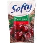 Мыло Софти вишня жидкое 450мл