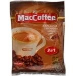 Beverage Maccoffee with coffee instant 18g