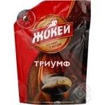 Кофе Жокей Триумф арабика натуральный растворимый сублимированный 95г Россия