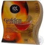 Чай чорний крупнолистовий Golden Ceylon Jaftea 100г