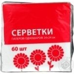 Eko-nomka Single-layer Napkins 60pcs