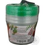 Набір контейнерів для харчових продуктів круглий Пластторг 0,5л*0,7л* 1,1л 83139