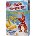 Палички кукурудзяні Бобо неглазуровані зі смаком молока, карт.кор.140 г