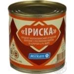 Condensed milk Milken Milk caramel boiled 8.5% 370g can
