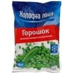 Vegetables pea Holodna liniya green frozen 400g