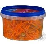 Морковь по-корейски Русалочка с грибами 200г - купить, цены на Novus - фото 2