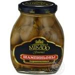 Mushrooms Mikado pickled 314g glass jar