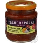 Vegetables eggplant Hospodarochka with vegetables in tomato sauce 420g