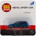Машинка металева Big Motors 7см