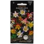 Насіння Квіти Аквілегія Маккейн суміш Golden Garden 0,2г