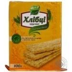 Хлебцы Галлети Хлебцы-Луганцы пшенично-овсяные без дрожжей и сахара 100г